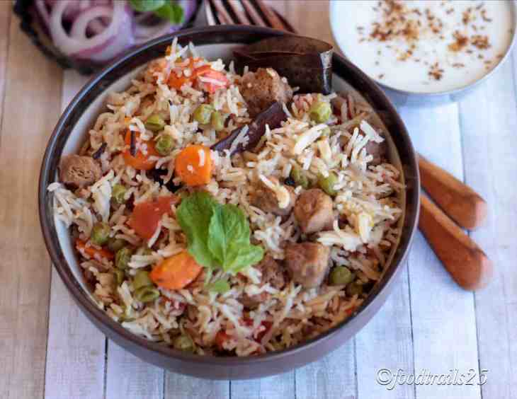 Mix. Vegetable Pulao