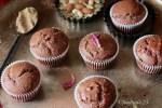 Chocolate Thandai Muffins