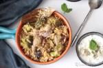 Broccoli Mushroom Pulao