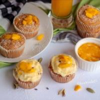 Mango and Cardamom Cupcakes