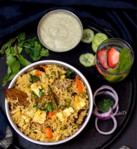 Vegetable Biryani in Instant Pot
