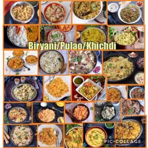 A-Z Briyai/Pulao Rice Recipes