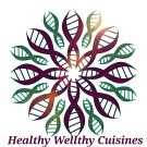 Healthy Welthy cuisine logo