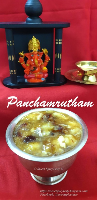Panchamuratam South Indian Style
