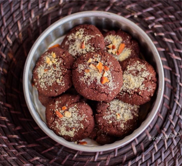 Chocolate Garam Masala Cookies