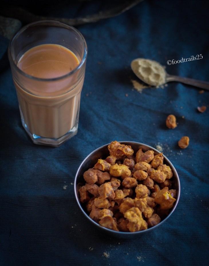 Chai and Peanuts