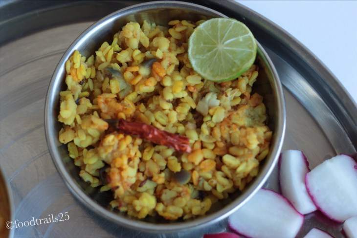 Sookhi Urad Dal with Lemon