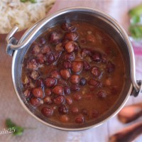 Kala Chana Masala Curry(Black Chickpea Masala Curry)