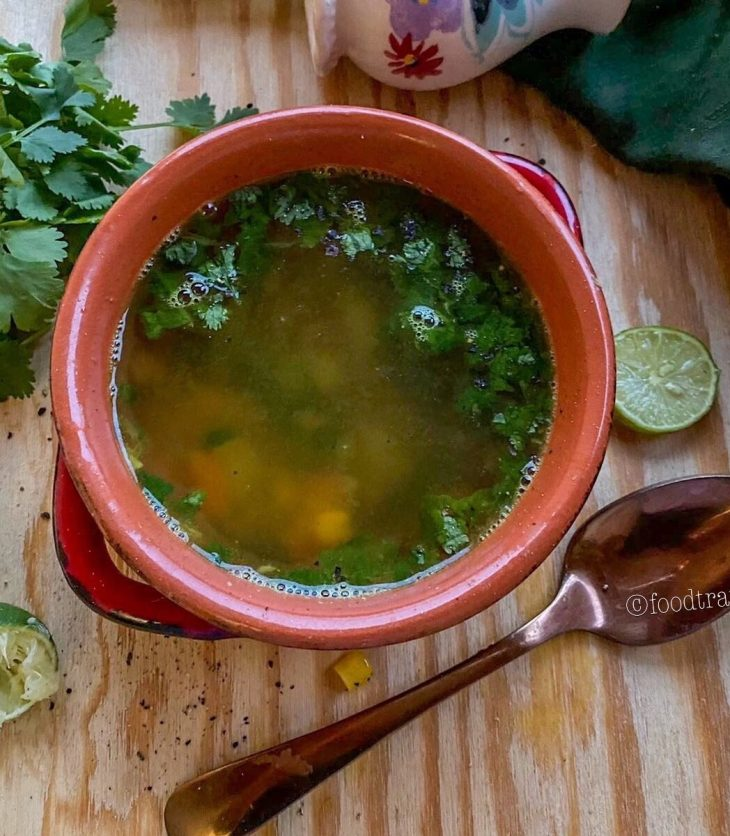 Lemon Coriander Amla Soup