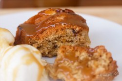 Chai Spiced Eggless Apple cake