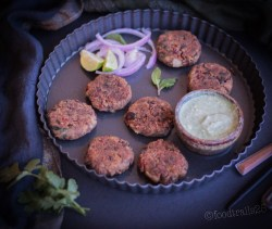 Red Kidney Beans Cutlets