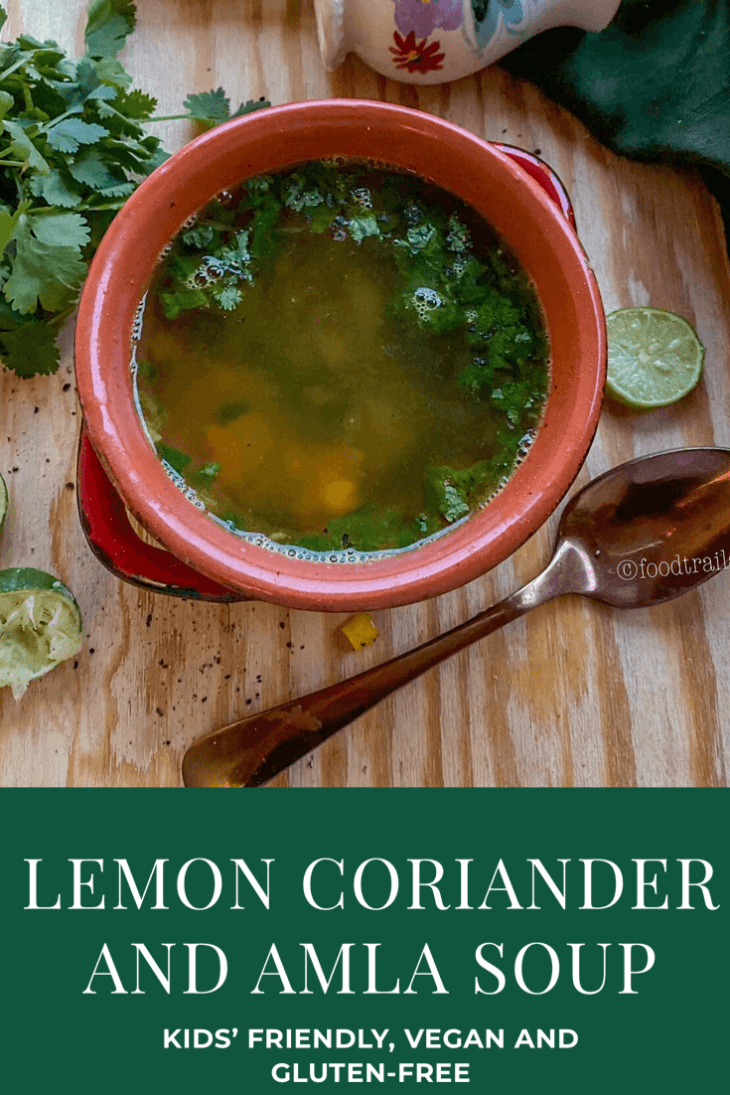 Lemon Coriander Amla Soup-pin pic