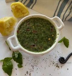 Basil Lemon Vinaigrette