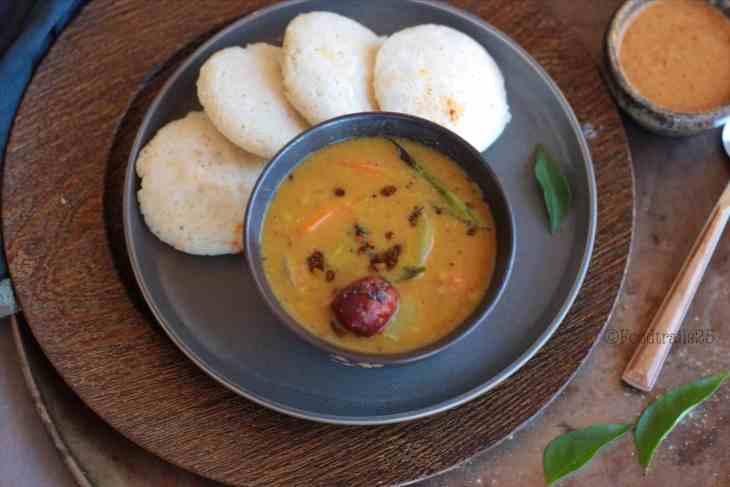 Udupi Sambhar-Idli