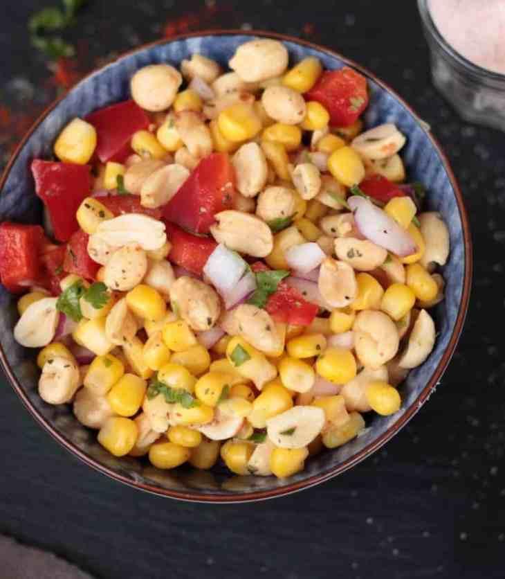 Corn Peanut Chaat