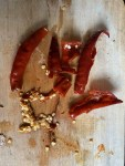 Deseed Red Chillies Soaked in water
