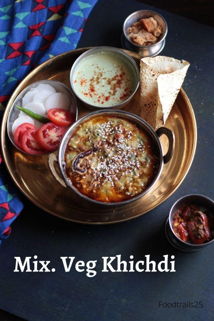 Mix. Veg Khichdi