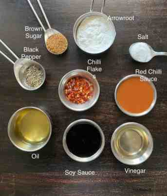 Condiments for Garlic Sauce