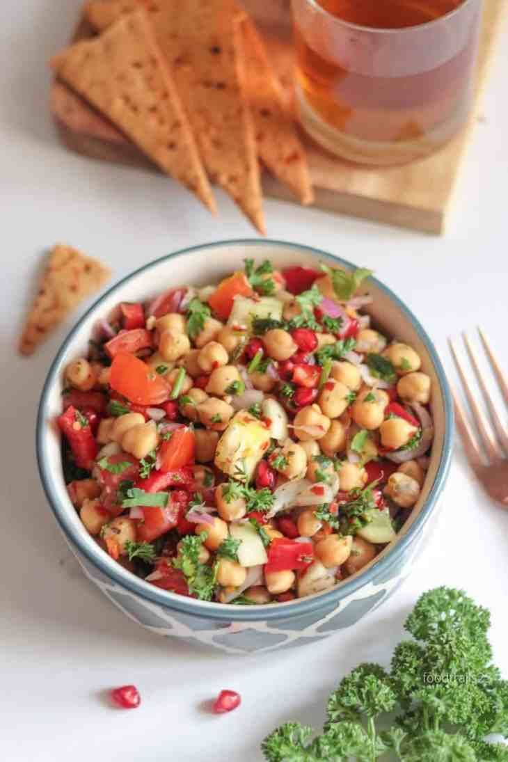 Pinning Image for Chickpea Salad