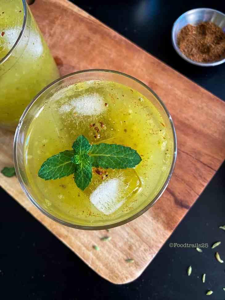Aam Panna/Indian Raw Mango Drink