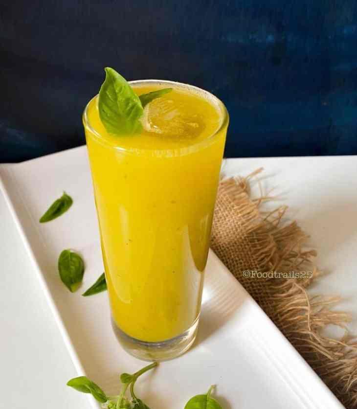 Mango Basil Summer Cooler
