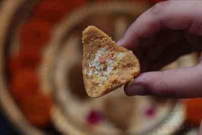 Khoya Modak- with dry fruit stuffing