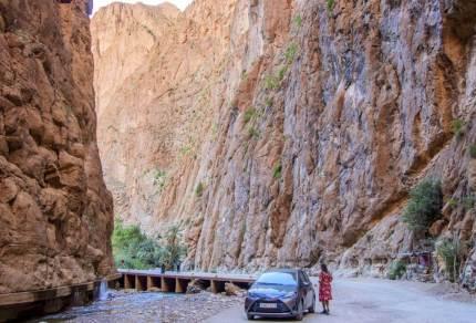 Ontdek de wondere Todra kloof in Marokko