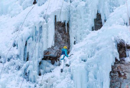 Voor op je bucketlist: ijsklimmen in Oostenrijk!