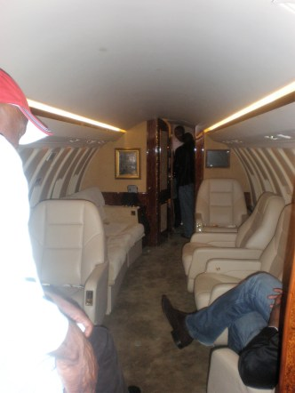 Business Travel - Private Jet | The Challenger arrived