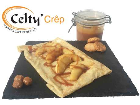 Celty Crep crepe pomme caramel