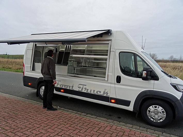 Die rollende Kantine in Hannover  Food Truck Foodtruck Verkaufswagen Imbissmobil Imbisswagen