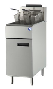 50 lb LP Propane deep fryer