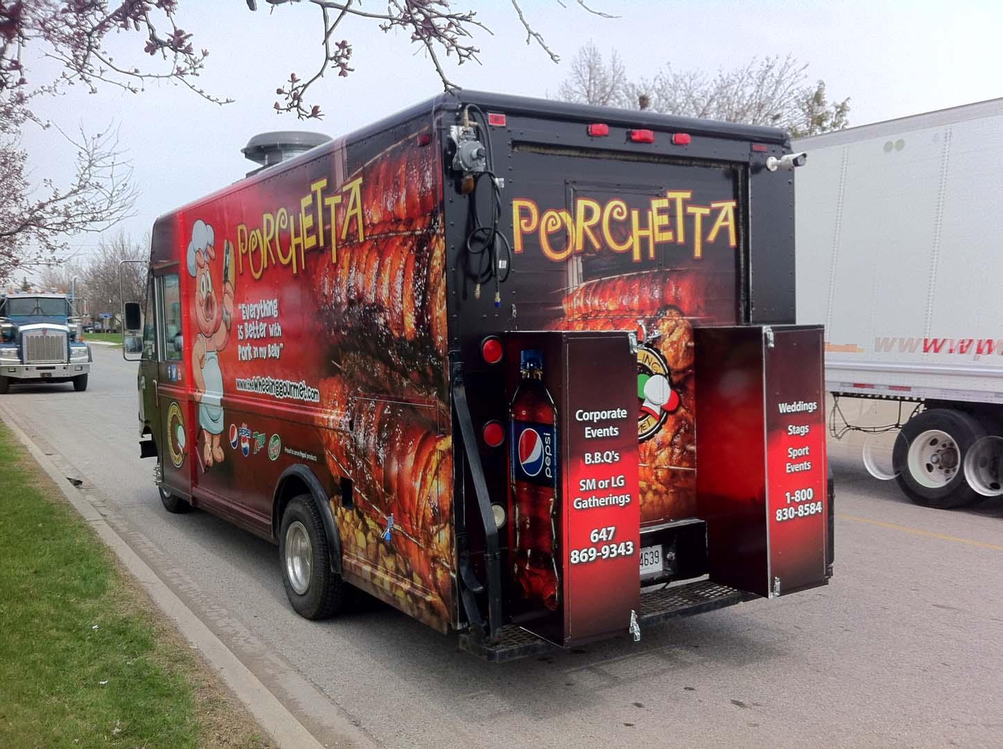 food truck canada buy custom food