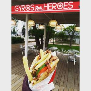 Gyros for Heroes 5.