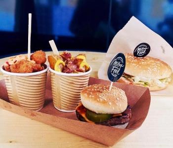 Бургер и картофель Mitro Food
