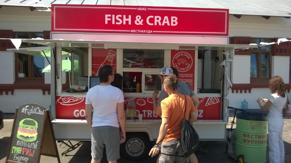 Фудтрак Fish&Crab 1