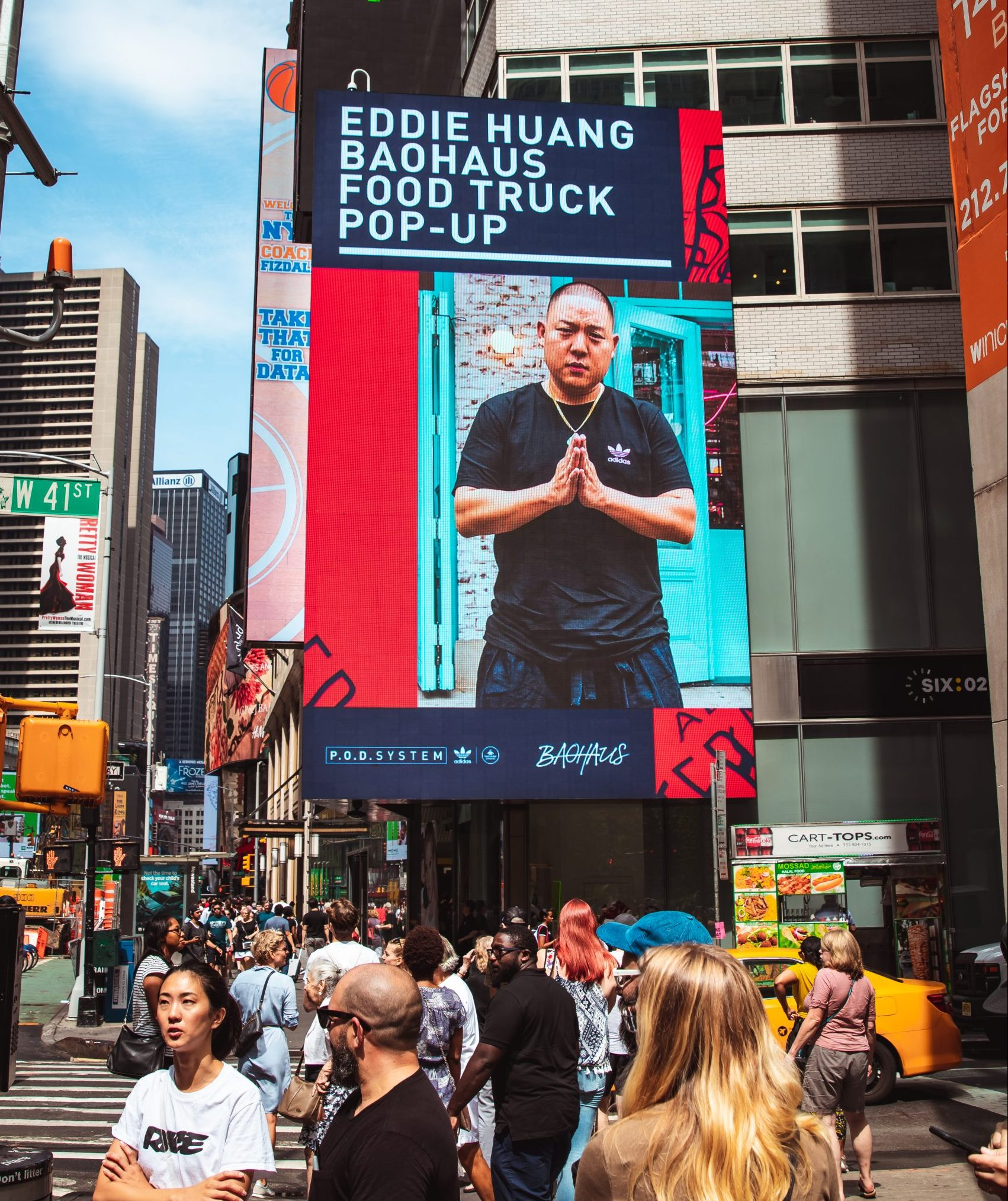 Adidas Eddie Haung Food Truck Pop-Up