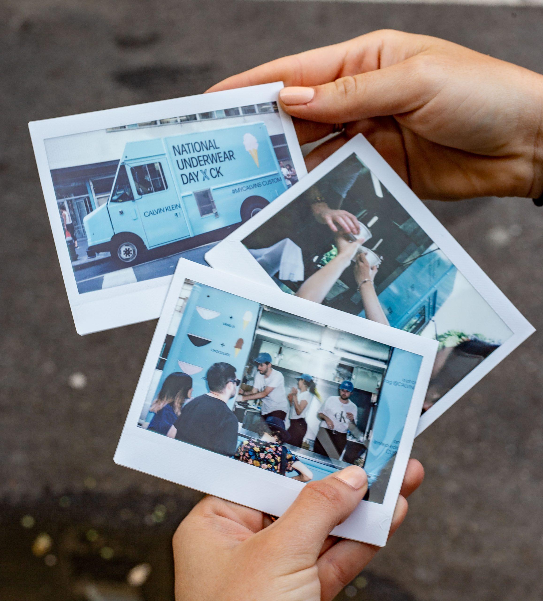 Calvin Klien Branded Truck Brand Activation