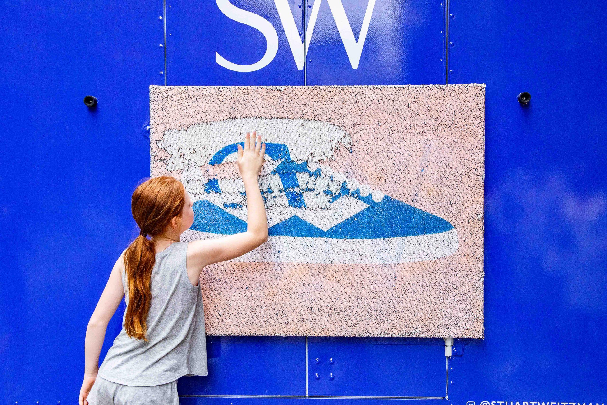 Interactive Marketing Ideas NYC Stuart Weitzman Example