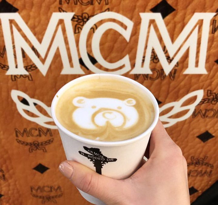 MCM custom coffee example