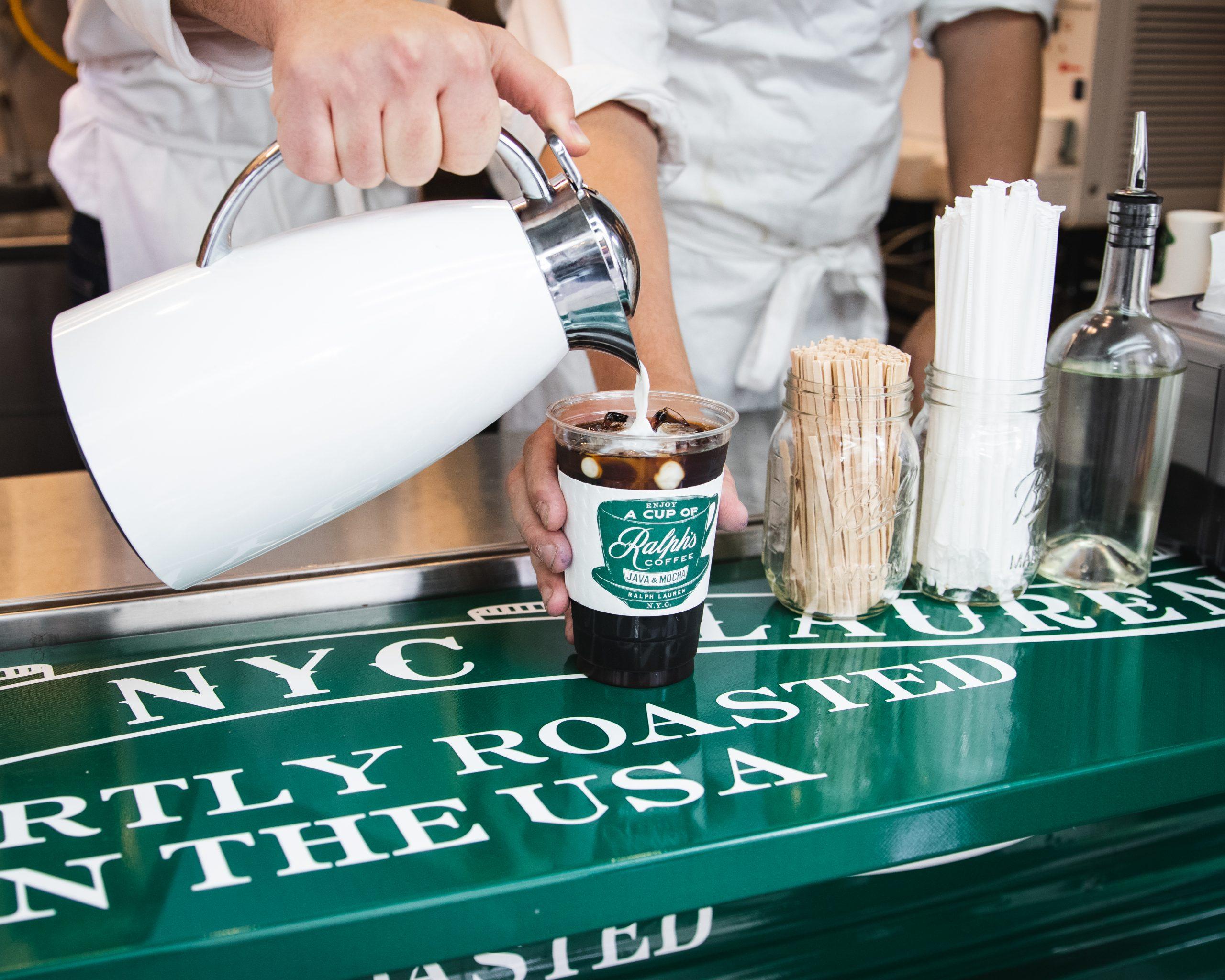 Ralph Lauren Ralphs Coffee Branded Pop Up