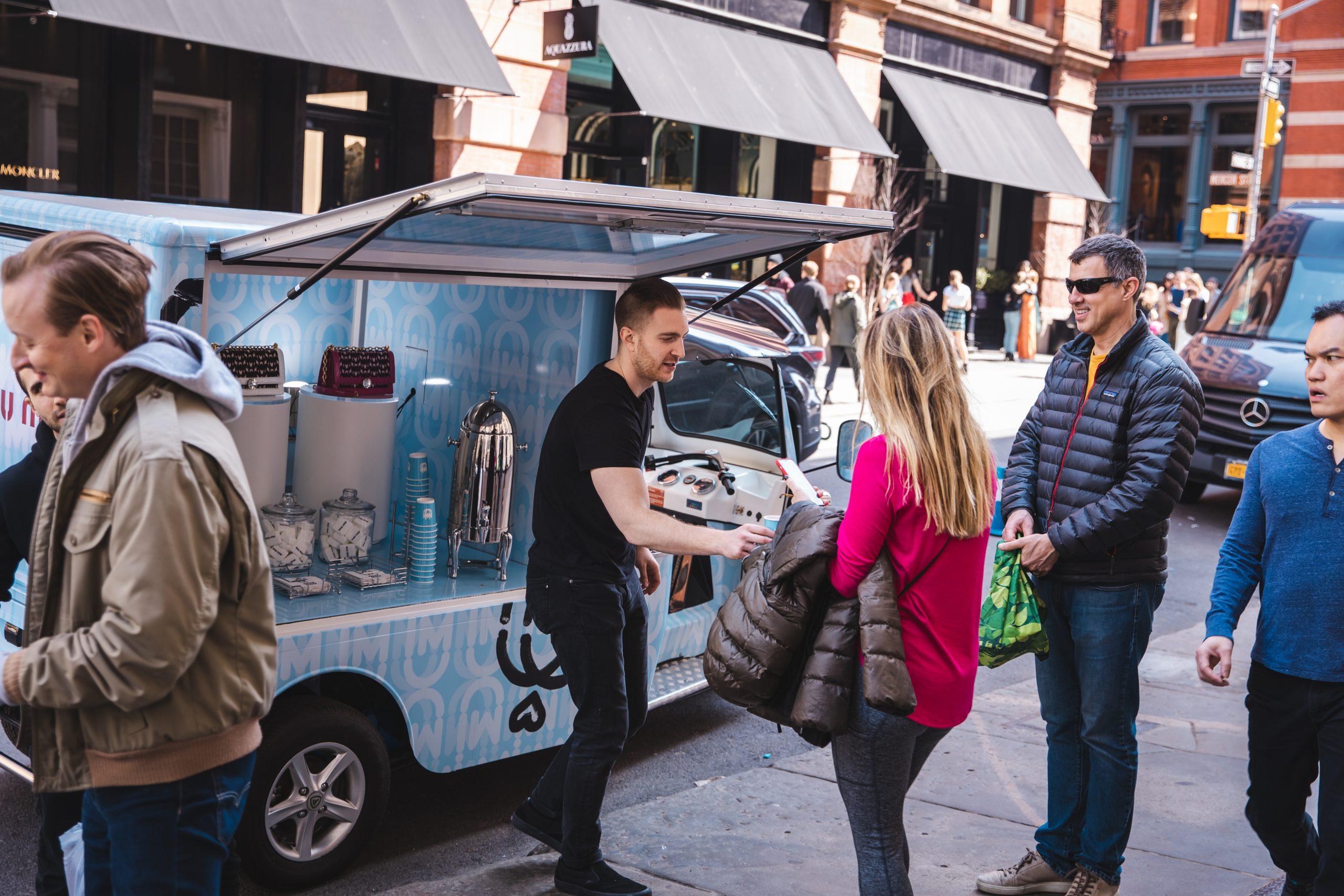 Miu Miu Mobile Pop Up NYC
