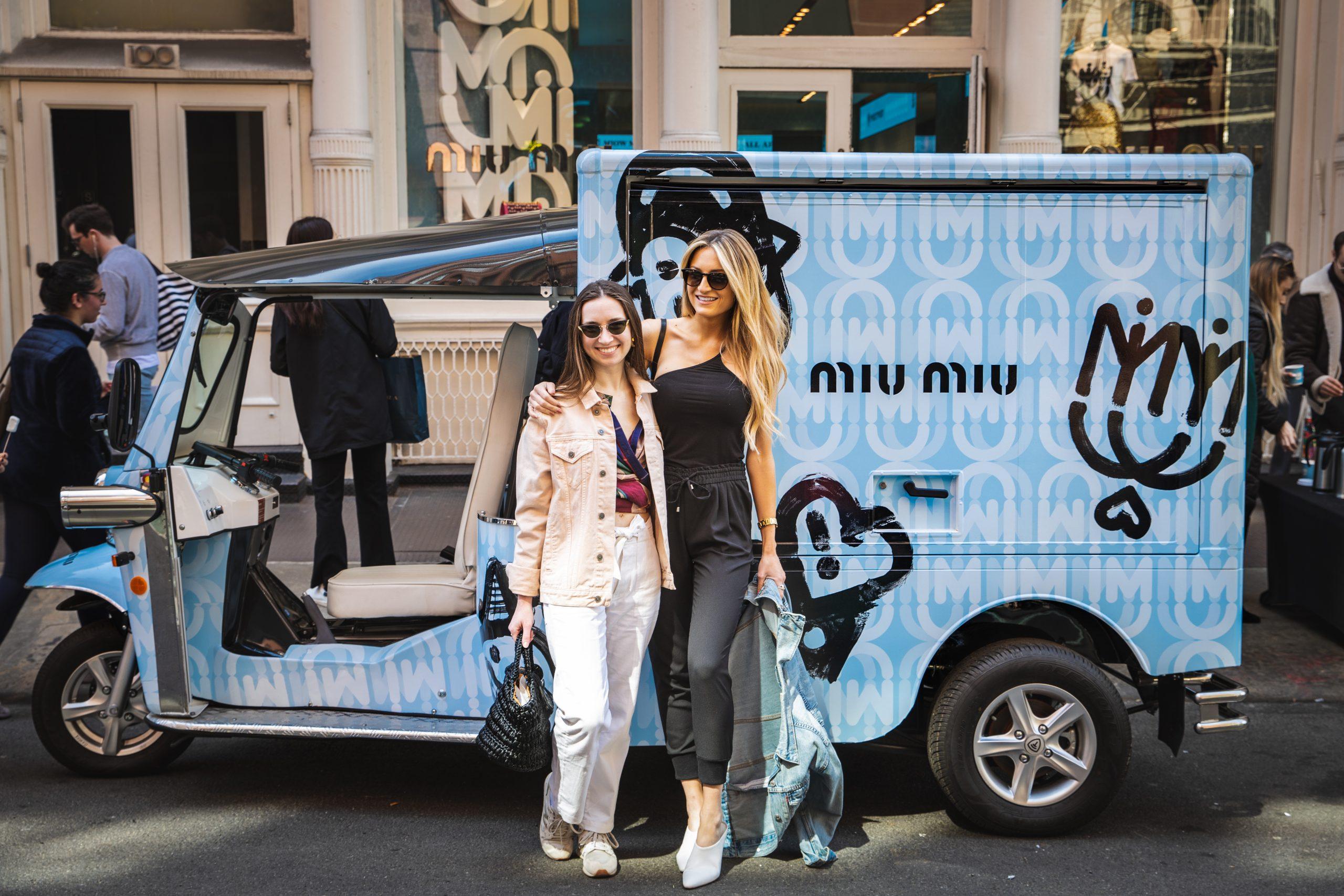Miu Miu Mobile Marketing Vehicle