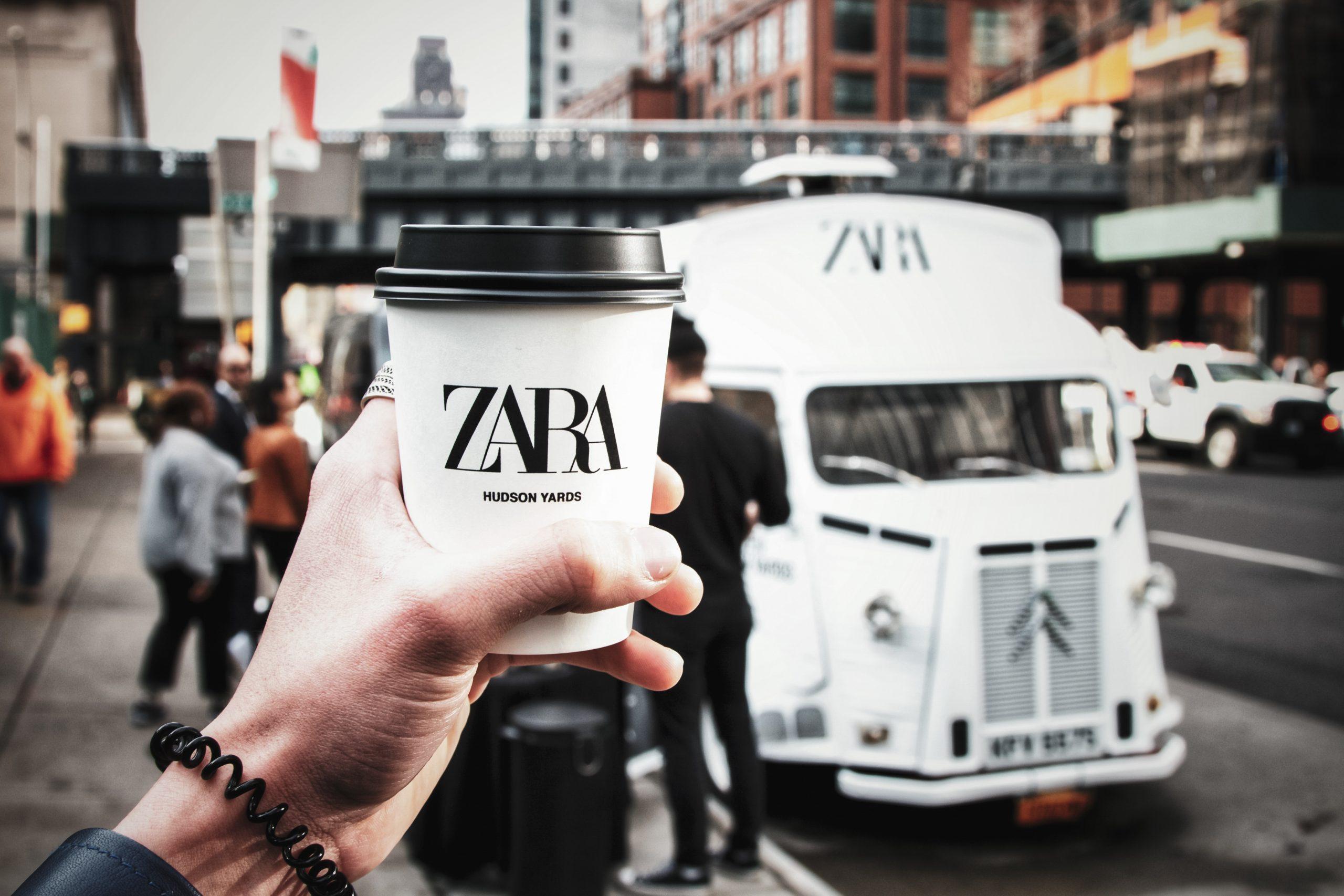 Zara Hudson Yards Coffee Pop-Up