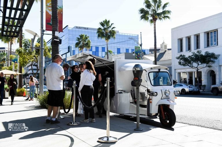 Branded pop up mobile tour