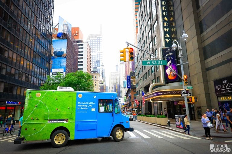 NYC Guerilla Marketing Agency Food Trucks