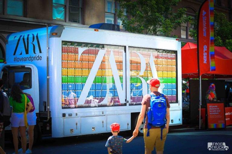 Zara Branded Truck