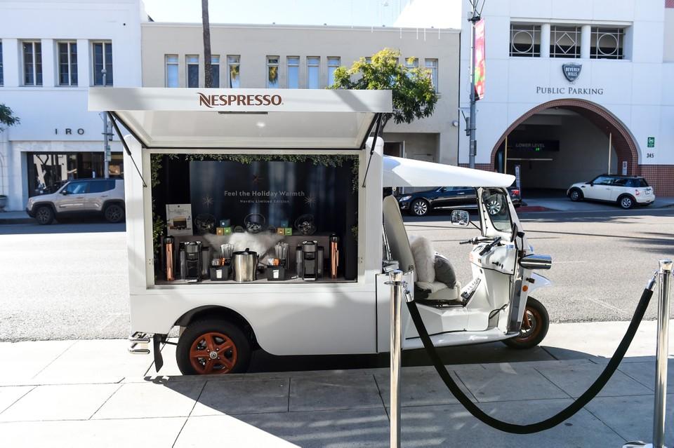 Nespresso Vintage Truck LA