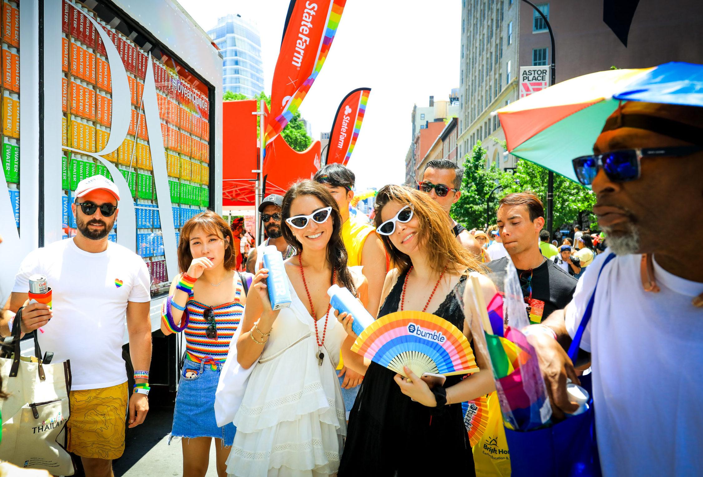 Zara Pride Brand Activation