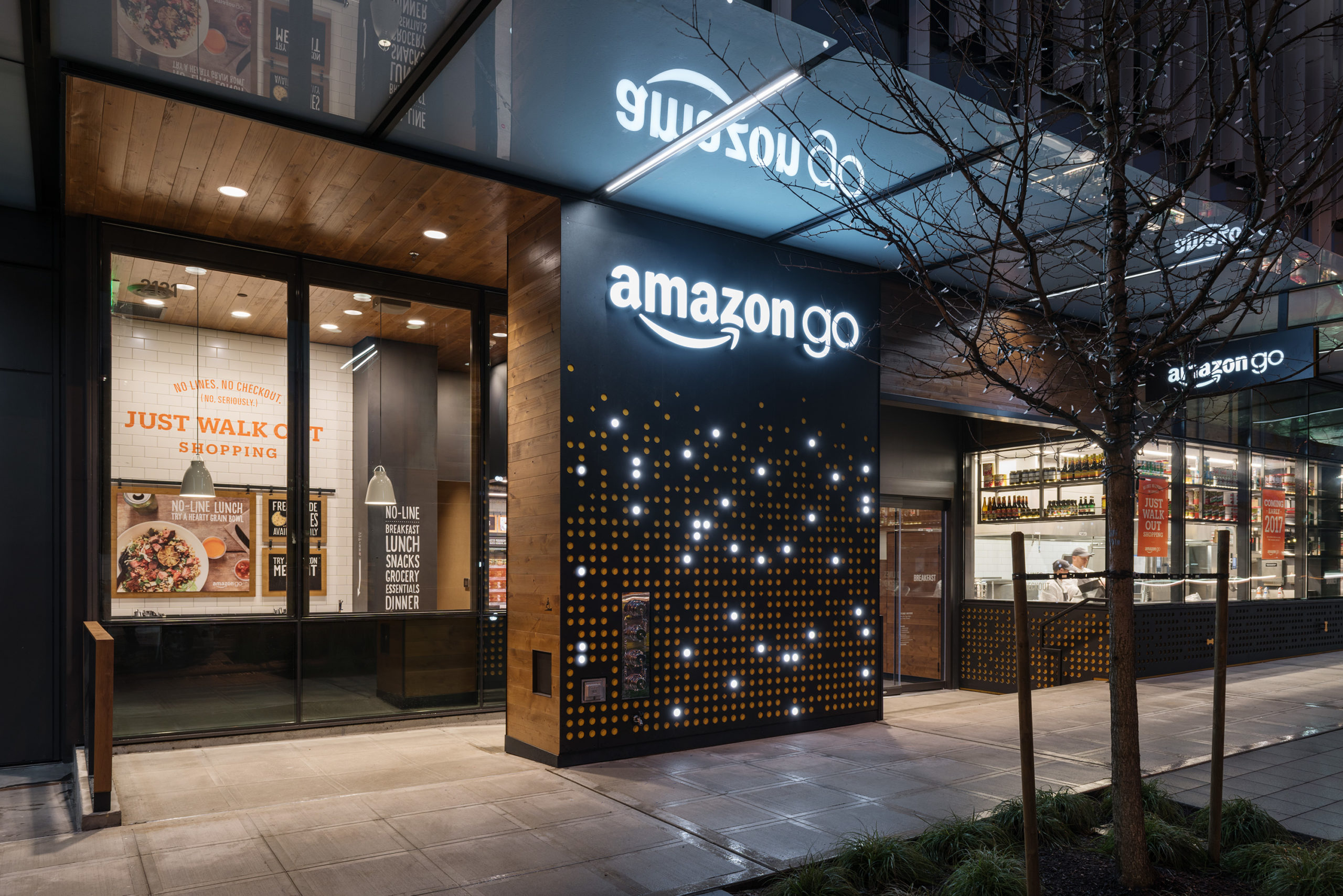 Amazon Go Blended Experiences